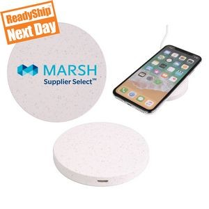 Qi Disc Wheat Straw Wireless Charger